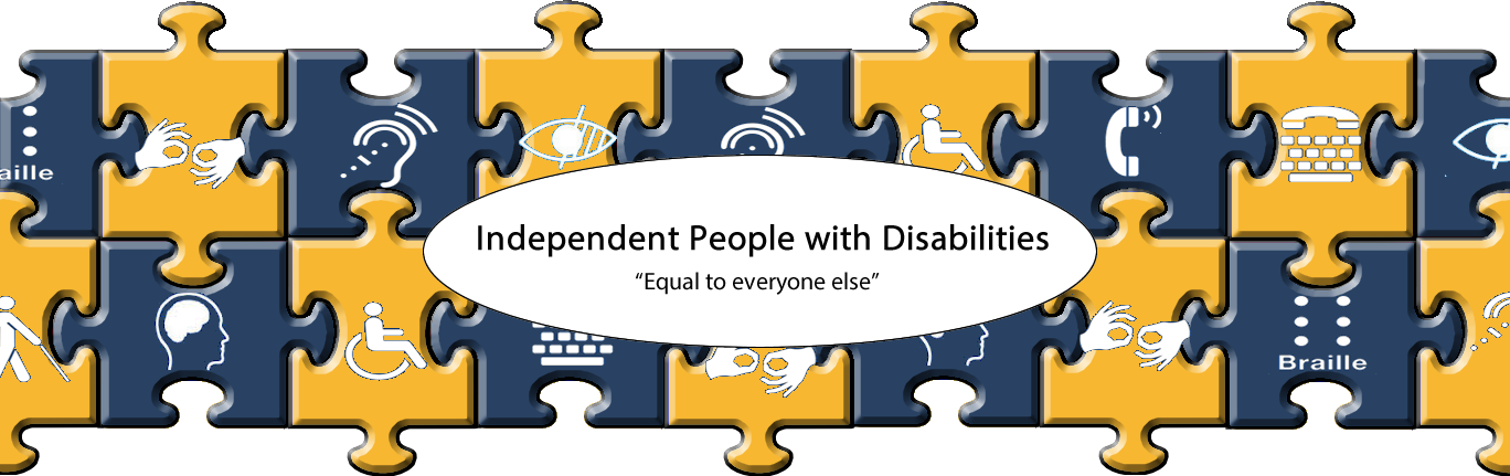 independent with disabilities equal to everyone else